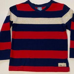 Boys V-cut Stripe shirt